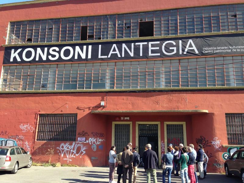 Visitas a Konsoni Lantegia