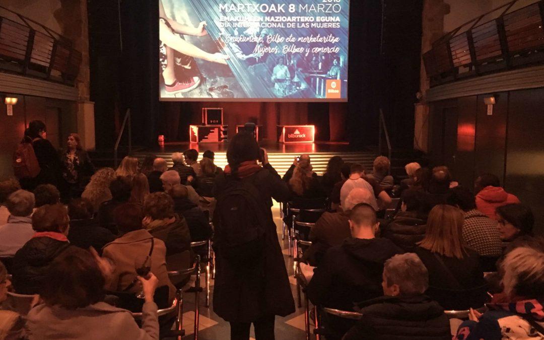 Presentación del documental «Las mujeres de Bilbao y sus comercios»